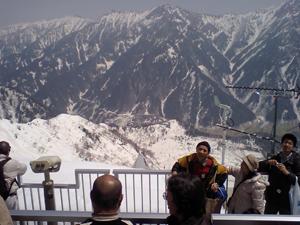 大観峰の展望台